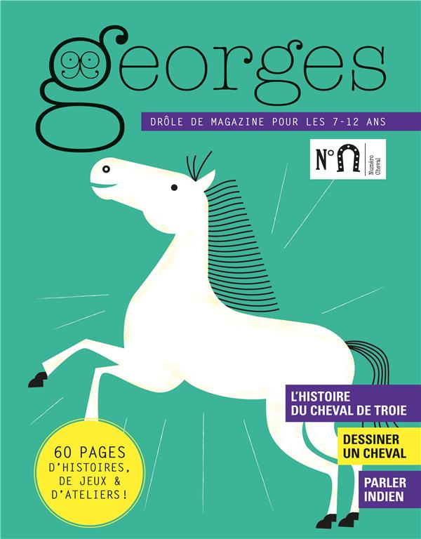 MAGAZINE GEORGES N 37 - CHEVAL